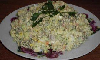 "Салат ""Необычный оливье"""