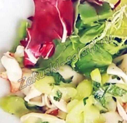 310 - Салат с морепродуктами без майонеза