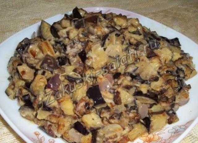 Закуска из баклажан - как грибы готова