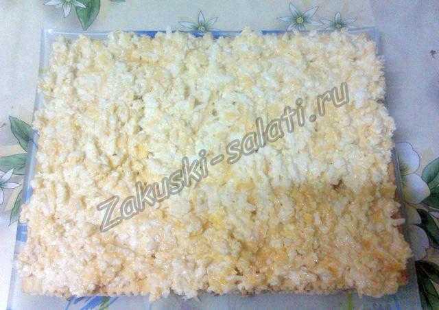 Посыпано тертым сыром