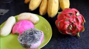 Коктейль из драконова фрукта