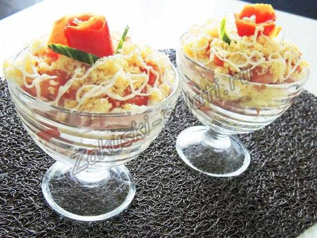 вписать салат мушкетер рецепт с фото его состав