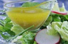 Вариации рецепта соуса «Винегрет»