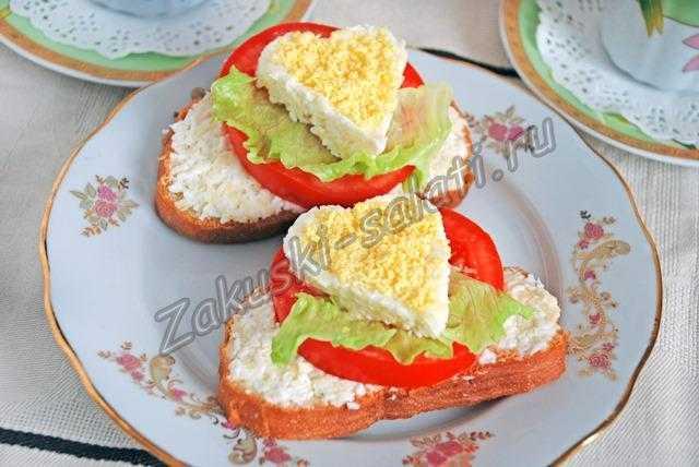 вкусные бутерброды на праздничный стол