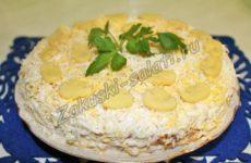Вкусный рецепт печеночного торта из блинчиков