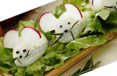 Закуска из яиц «Веселая компания»