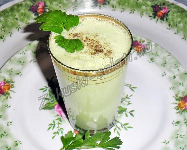 коктейль из кефира