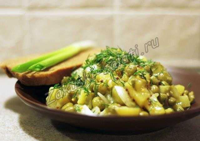 салат из картошки