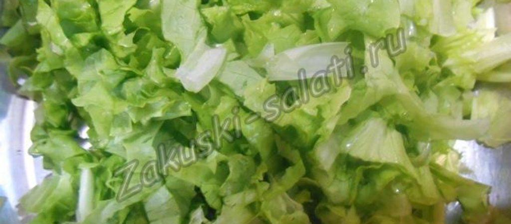 Как заморозить на зиму зеленый салат