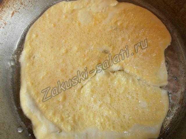 готовим омлет