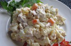 Рецепт простого и вкусного салата с курицей
