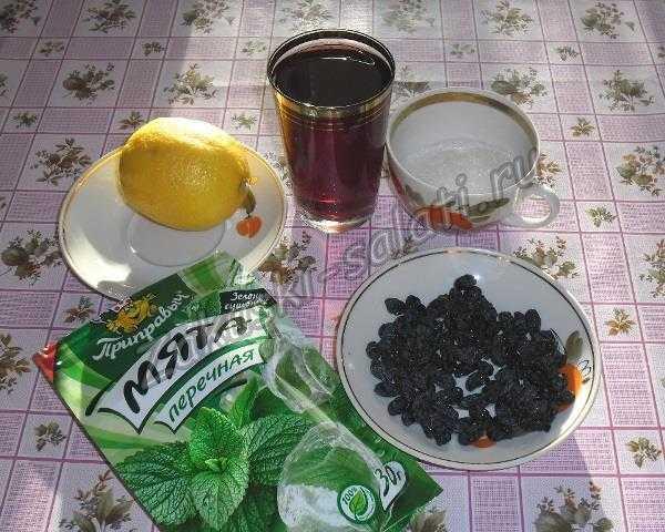 ингредиенты для 1 напитка