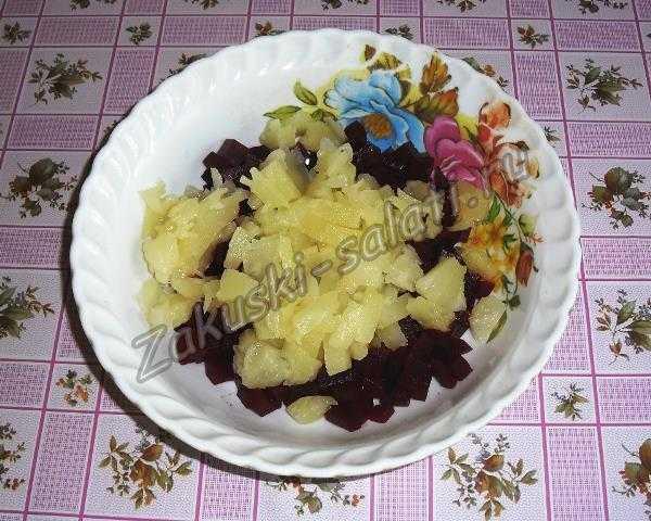 добавляем ананас
