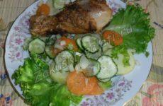 Какие салаты можно подать к мясу на гарнир