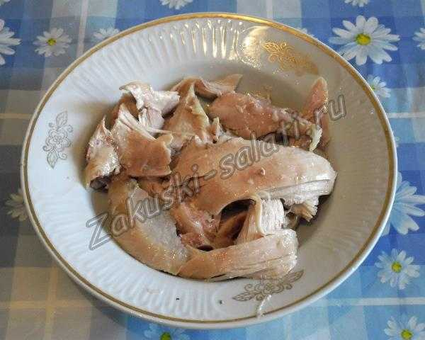отвариваем курицу