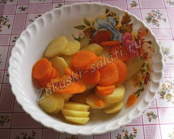 овощи нарезаем кружочками