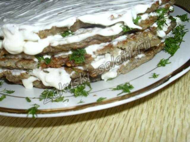 торт из баклажан