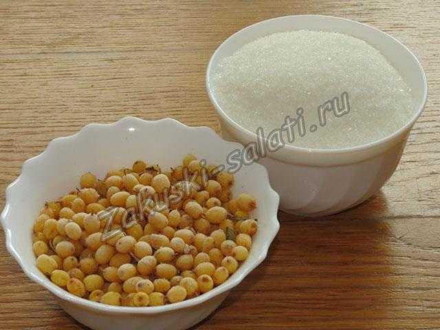 ингредиенты для компота из облепихи