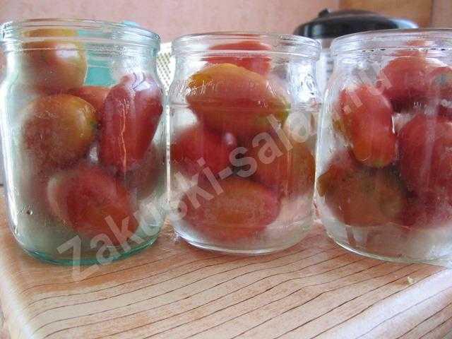 готовим помидоры
