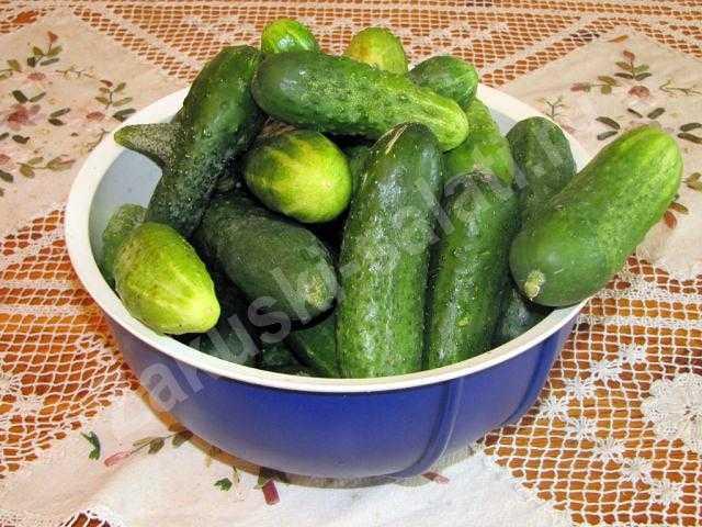 огурчики для салата