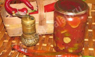 Огурчики, консервированные на зиму по-армянски