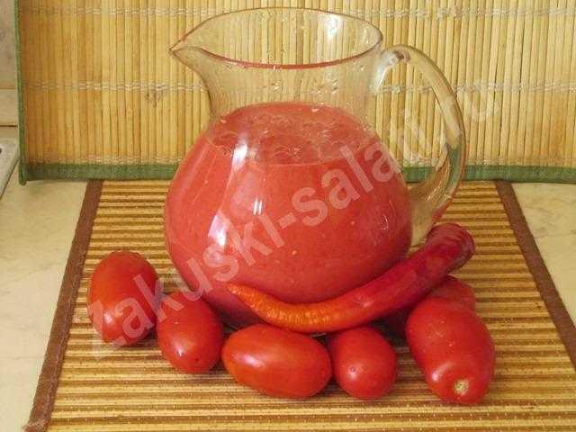 томатный соус для огурцов