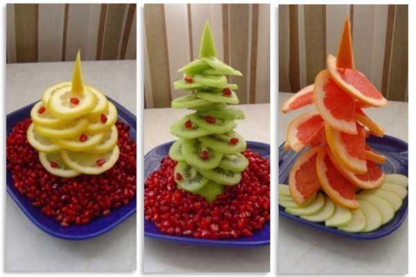 фруктовые елочки
