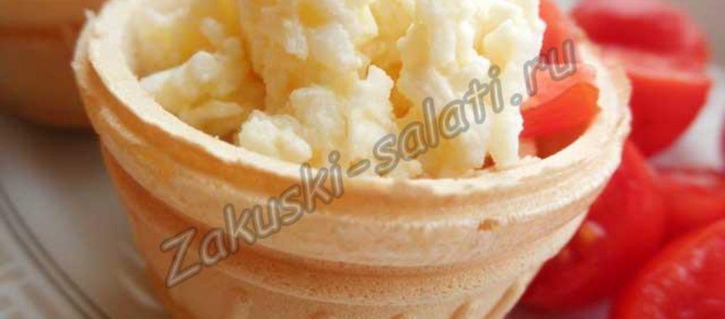Еврейская закуска с сыром и чесноком, рецепт с фото