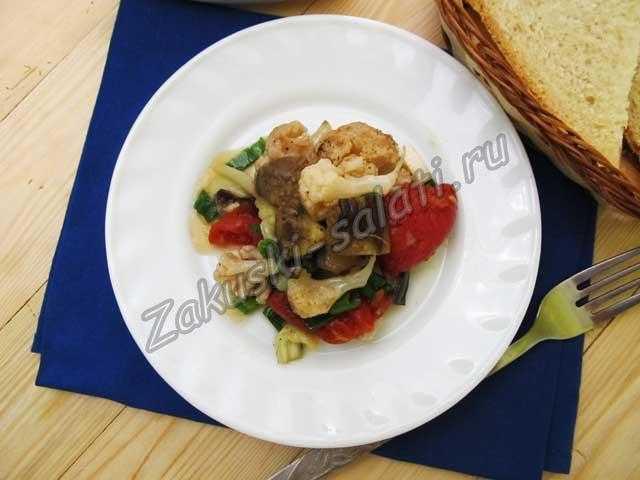 салатик из овощей
