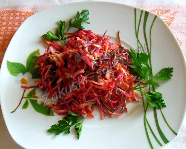 экономный вариант салата