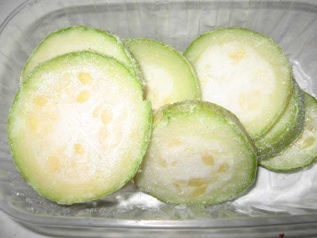 Как заморозить кабачки на зиму в домашних условиях