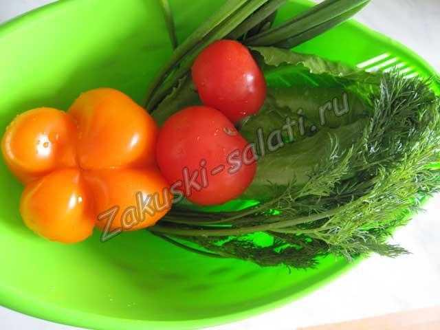 овощи моем и сушим