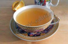 Мятно-апельсиновый чай