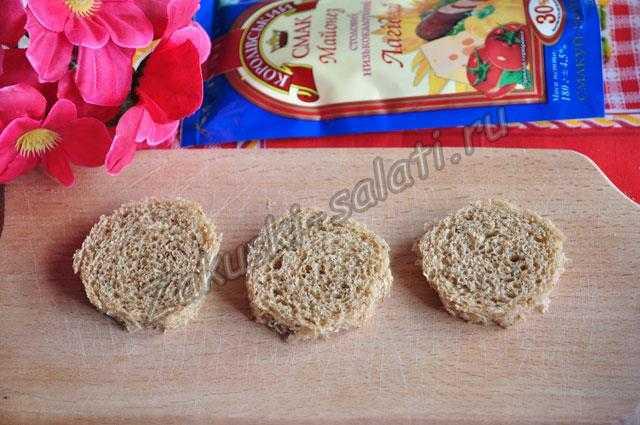 кружки из хлеба