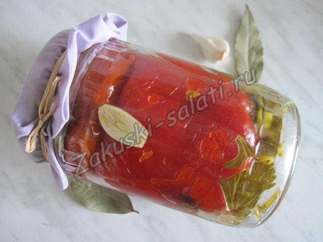 красный перец маринованный по армянски