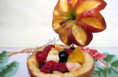 Рецепты приготовления яблок