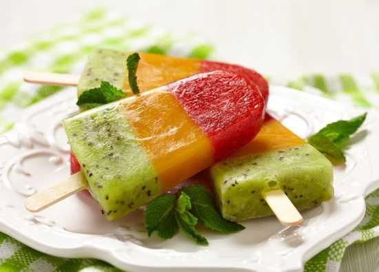 фруктовый лед в домашних условиях