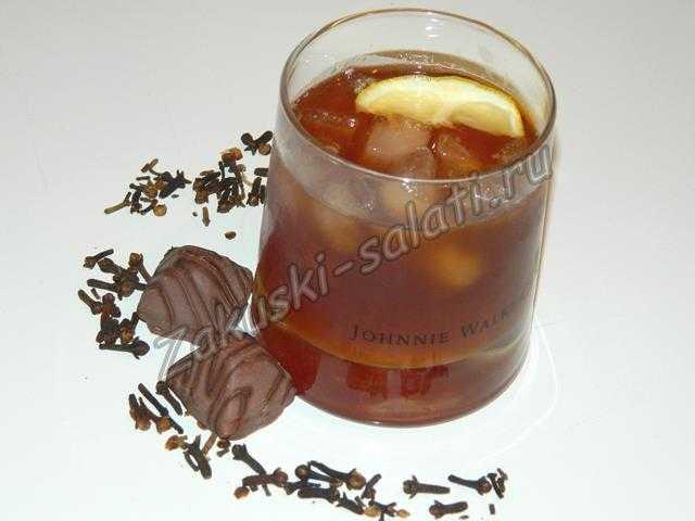 коктейль с коньяком и соком апельсина