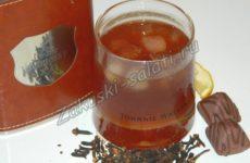 Коктейль с коньяком и апельсиновым соком «Зеленая устрица»