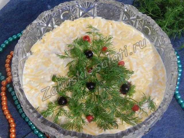 салат с кобласой