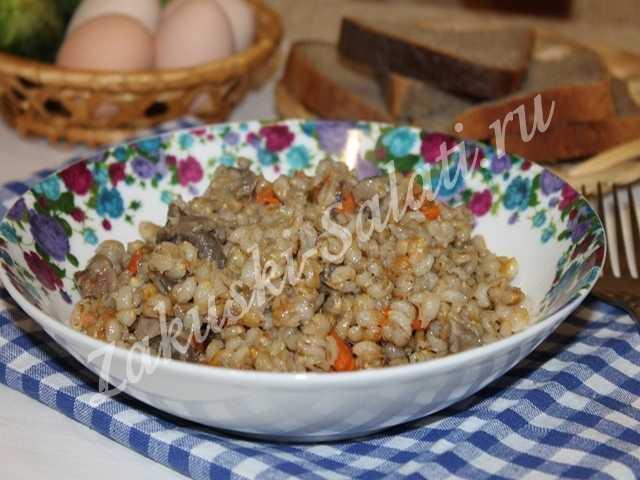perlovka 1 - Каша из перловой крупы в мультиварке, очень вкусно и полезно