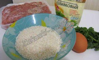 Рисовые котлеты с куриным фаршем в мультиварке, легко и простодля