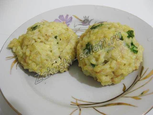 рисовые колобки в мультиварке