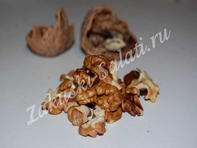 Ядра грецкого ореха отделить от скорлупы