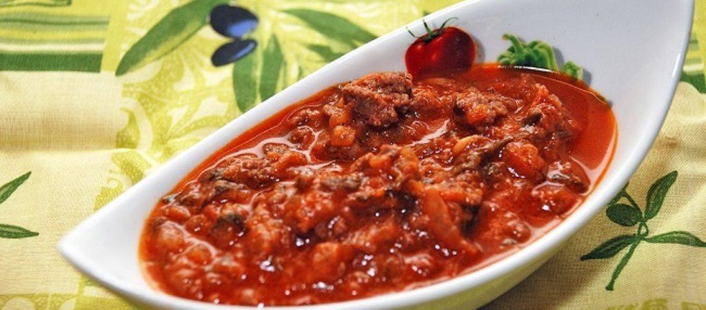 Соус к пасте и макаронам «Болоньезе»