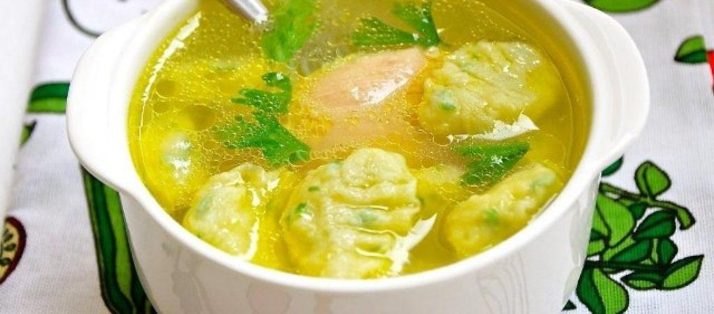 Суп с клецками, вкусная подборка проверенных рецептов