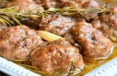 Котлеты из говядины «Грибной аромат»
