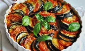 Рататуй - средиземноморское блюдо
