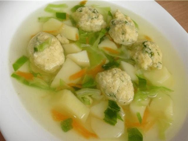 """суп с клёцками """"как в детсаду"""""""