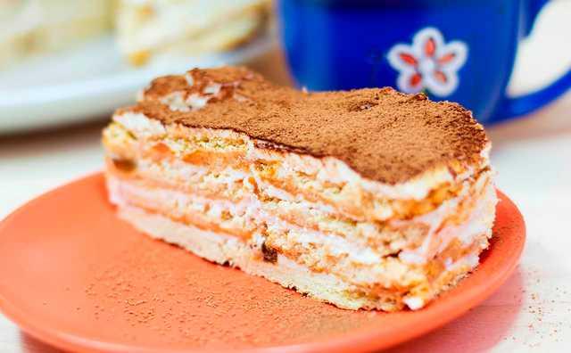 торт ореховый без выпечки